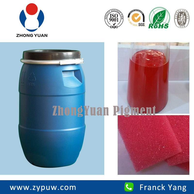 Zy-201 Red Colorant (for PU Polyether Block Foam)