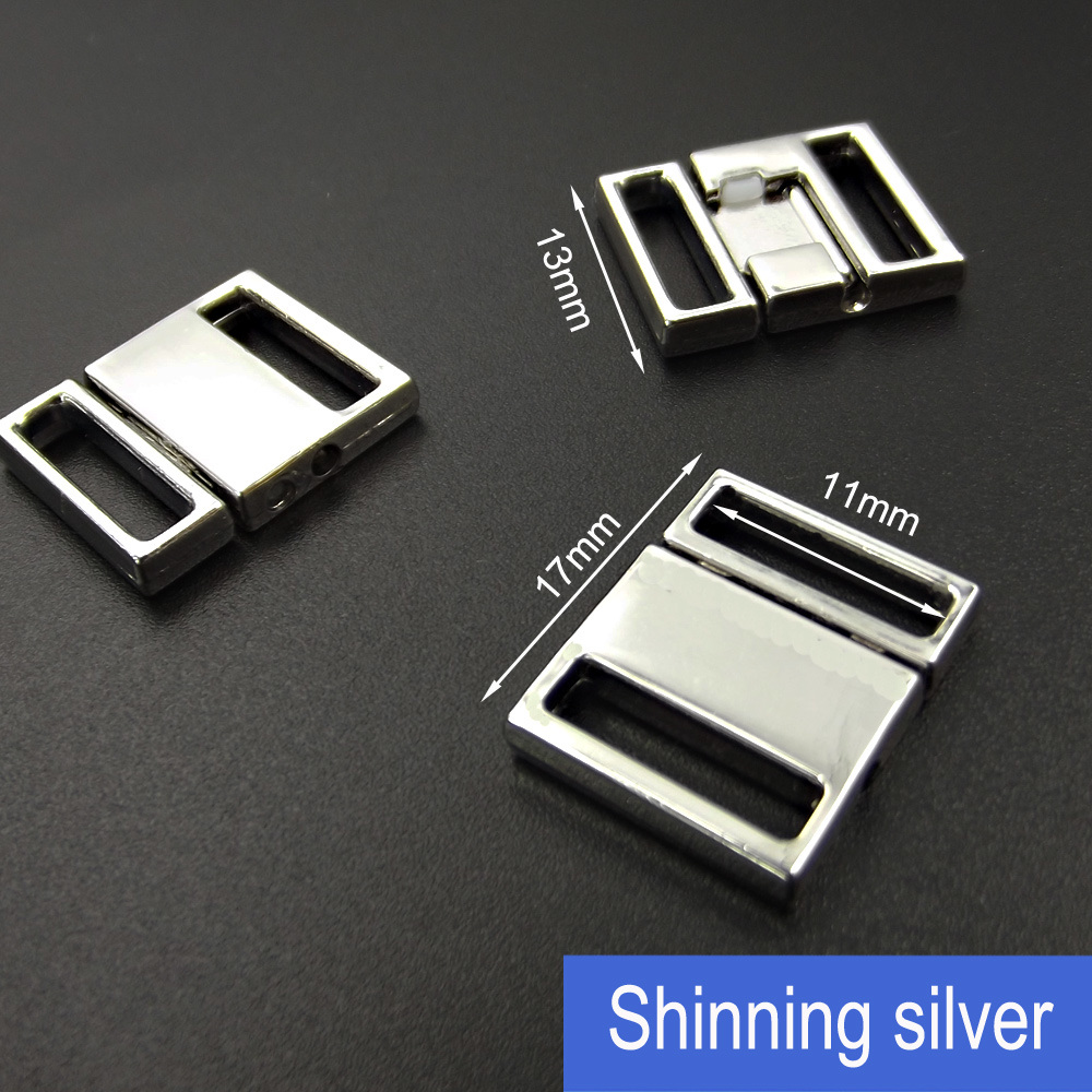 11mm Underwear Accessories Clip in Alloy Metal