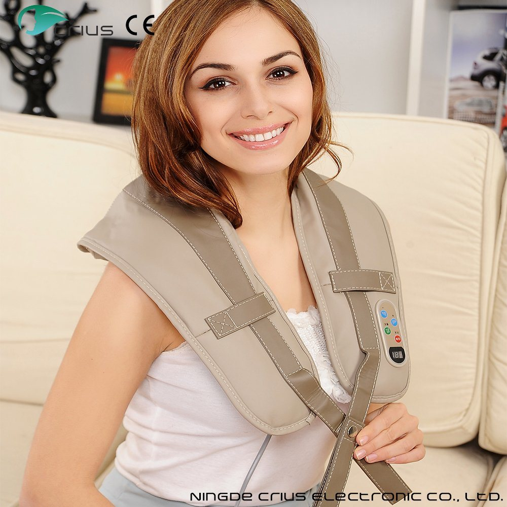 Tapping Kneading Heating Shoulder and Neck Massage Belt