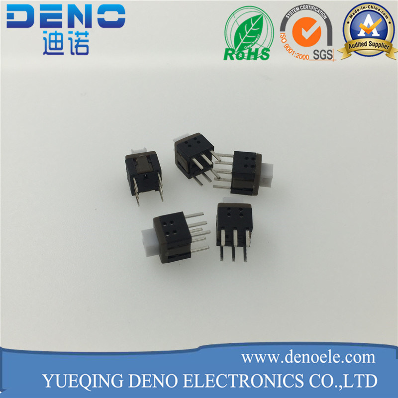 5.8 Slide Feet 6 Pin Push Switch