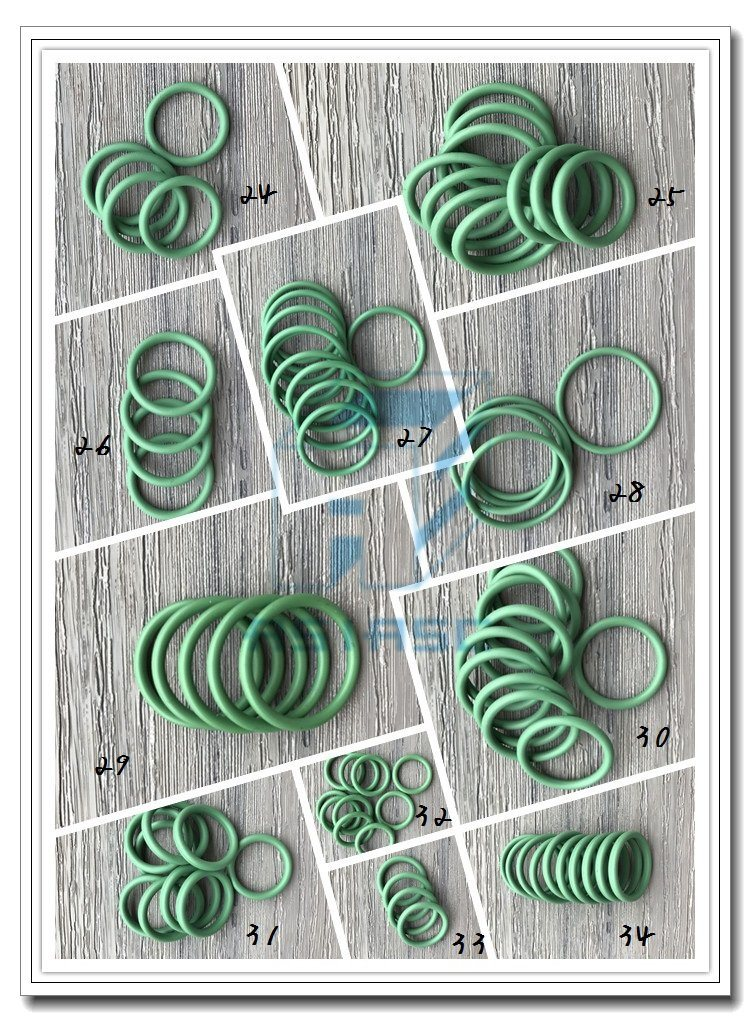 Customized HNBR Rubber Silicone O-Ring Seal O-Ring Kit Box Mdoring-3