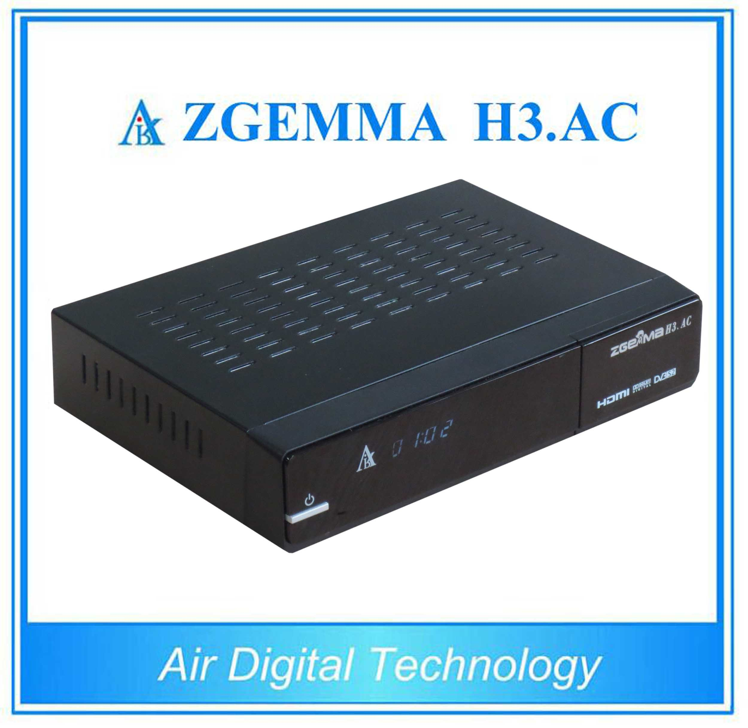 North America ATSC + Satellite Receiver DVB S/S2 Zgemma H3. AC