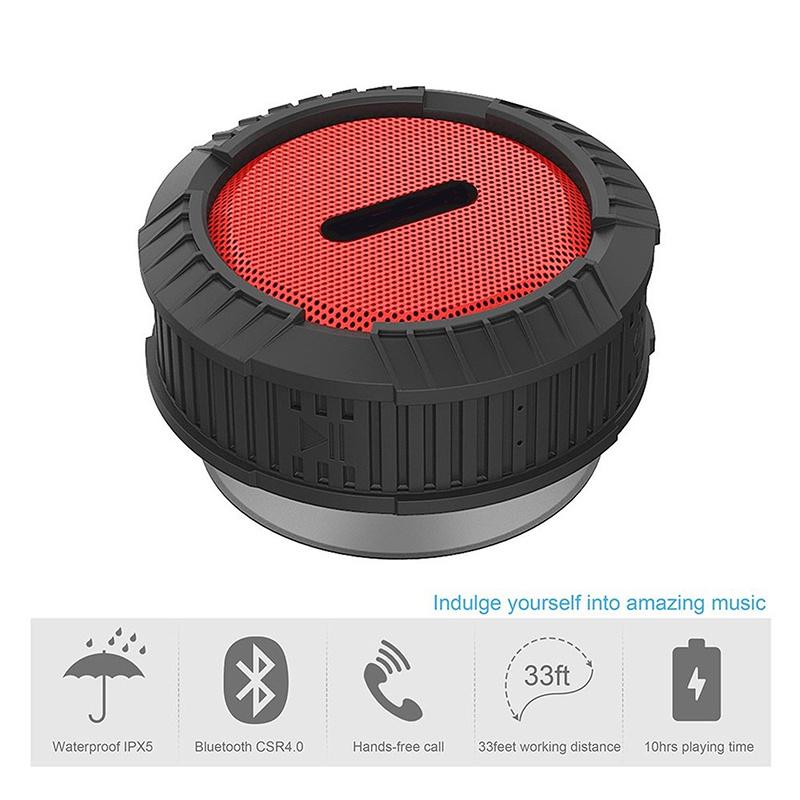 Gymsense Portable Wireless Bluetooth 4.0 Waterproof Speaker