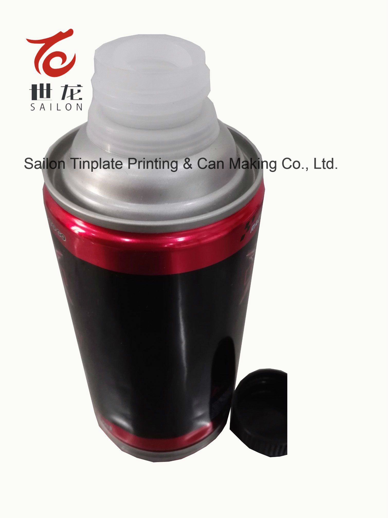 Tin Cans for Brake Fluid with Screw Caps Designing