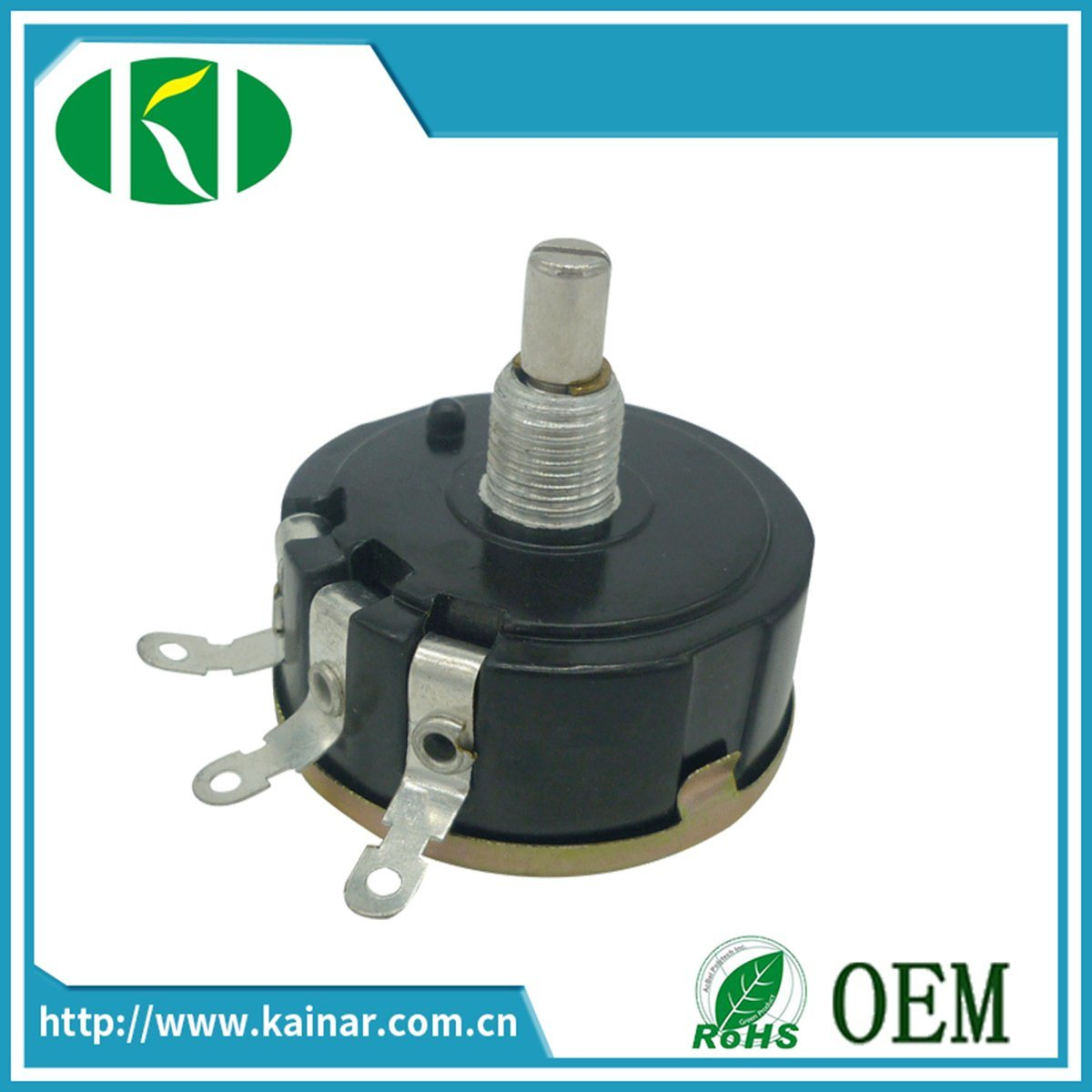 Wx050 Single Turn Precision Wirewound Potentiometer