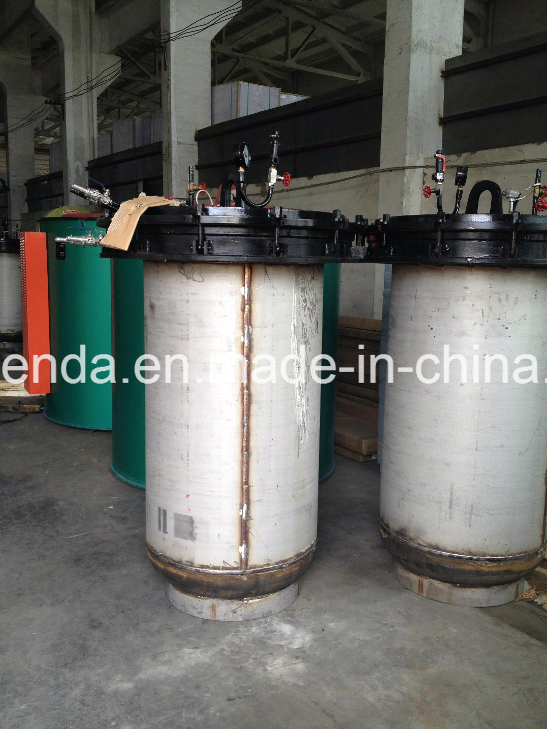 Automatic Vertical Pit Well Type Wire Annealing Fumace