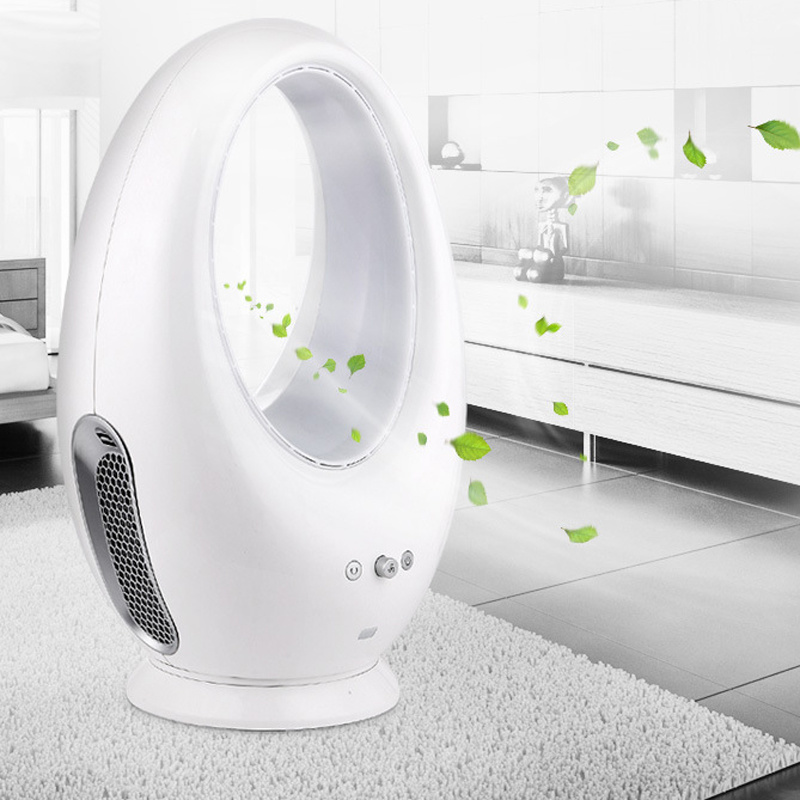"Super Quite 10"" Remote Control Electric Bladeless Fan"