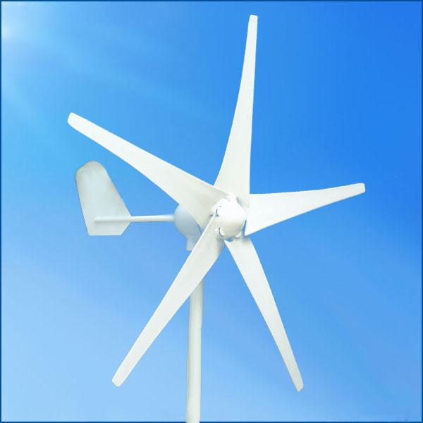 Hot Sale Small 12V 24V 300W Horizontal Wind Generator