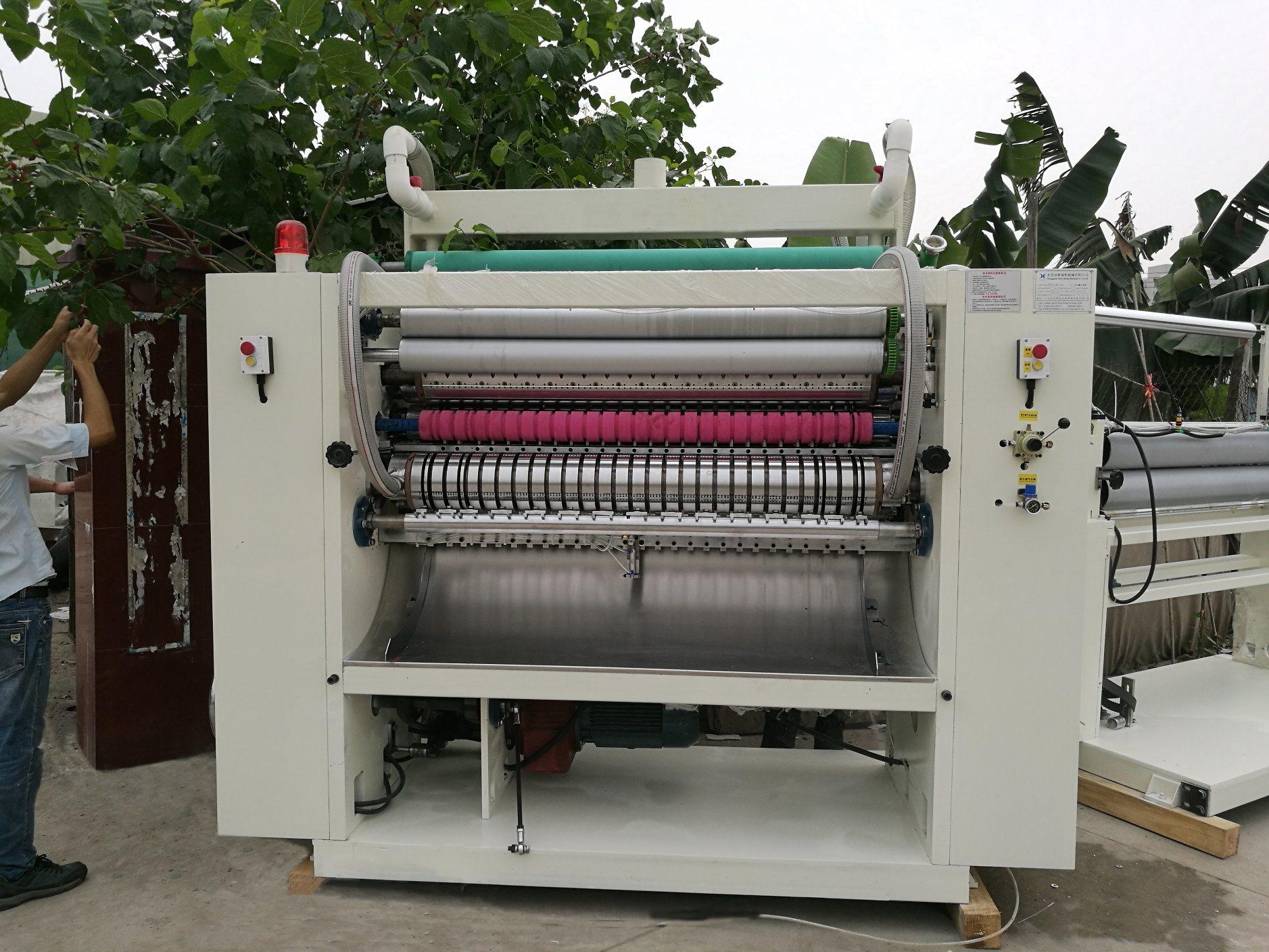 High Speed Glue Lamination N/Z Folding Paper Hand Towel Making Machine