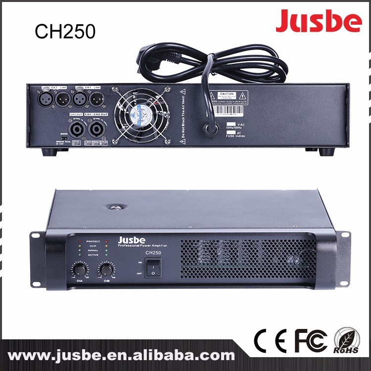 200-400 Watts Professional Conference Music Stage Outdoor Sound System Amplifier Price