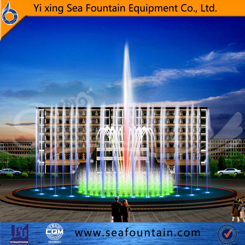 Morden Music Water Fountain Manufacturer