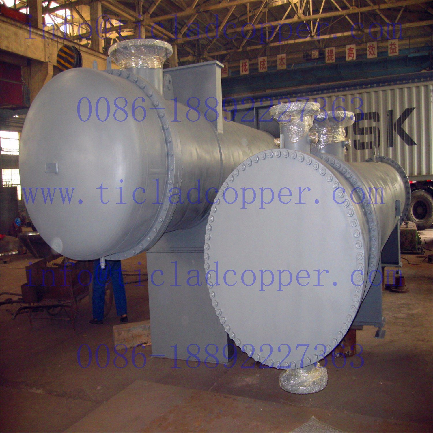 ASME Titanium Heat Exchanger