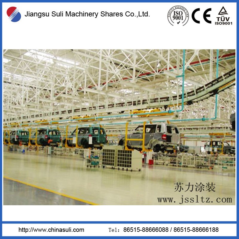Automatic Powder Coating Production Line for Car