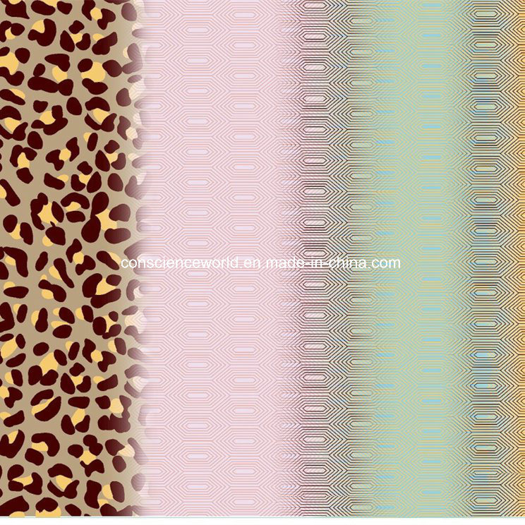 100%Polyester Leopard Pigment&Disperse Printed Fabric for Bedding Set