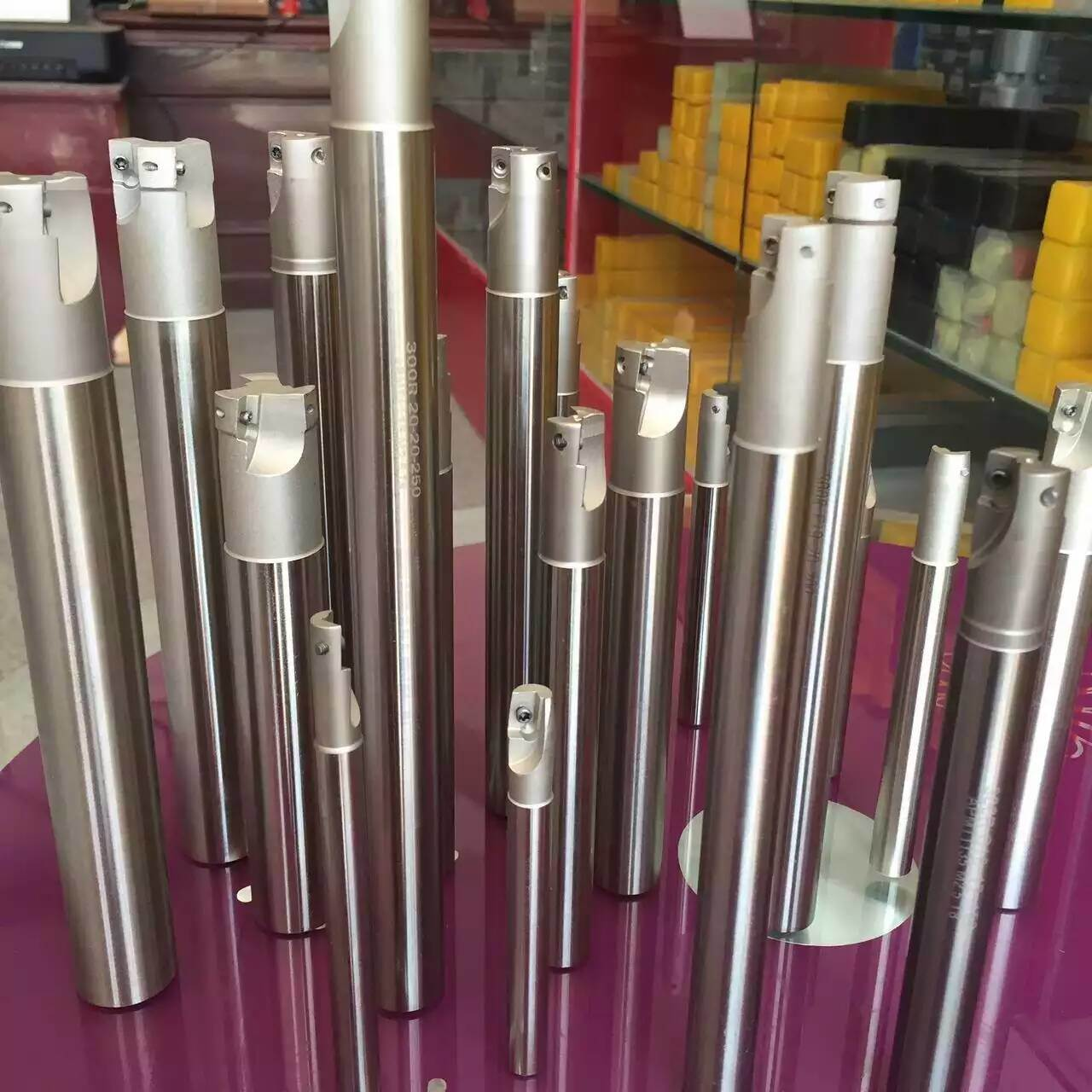 Cutoutil ISO Milling Head Milling Cutters for Apmt Rpmt Spmt Sdmt Inserts Indexable Milling Tools