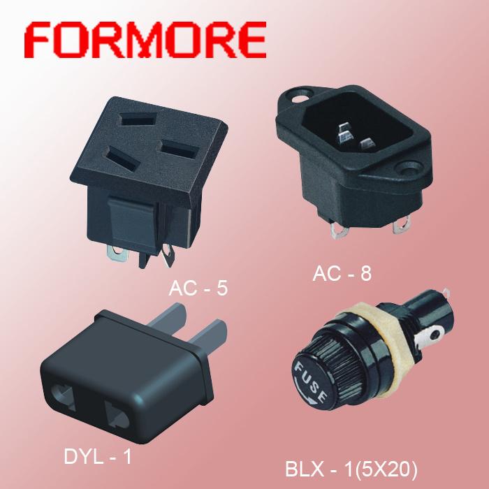 5*20 Fuse Holder/AC Socket /Fuse /Over Load Protector