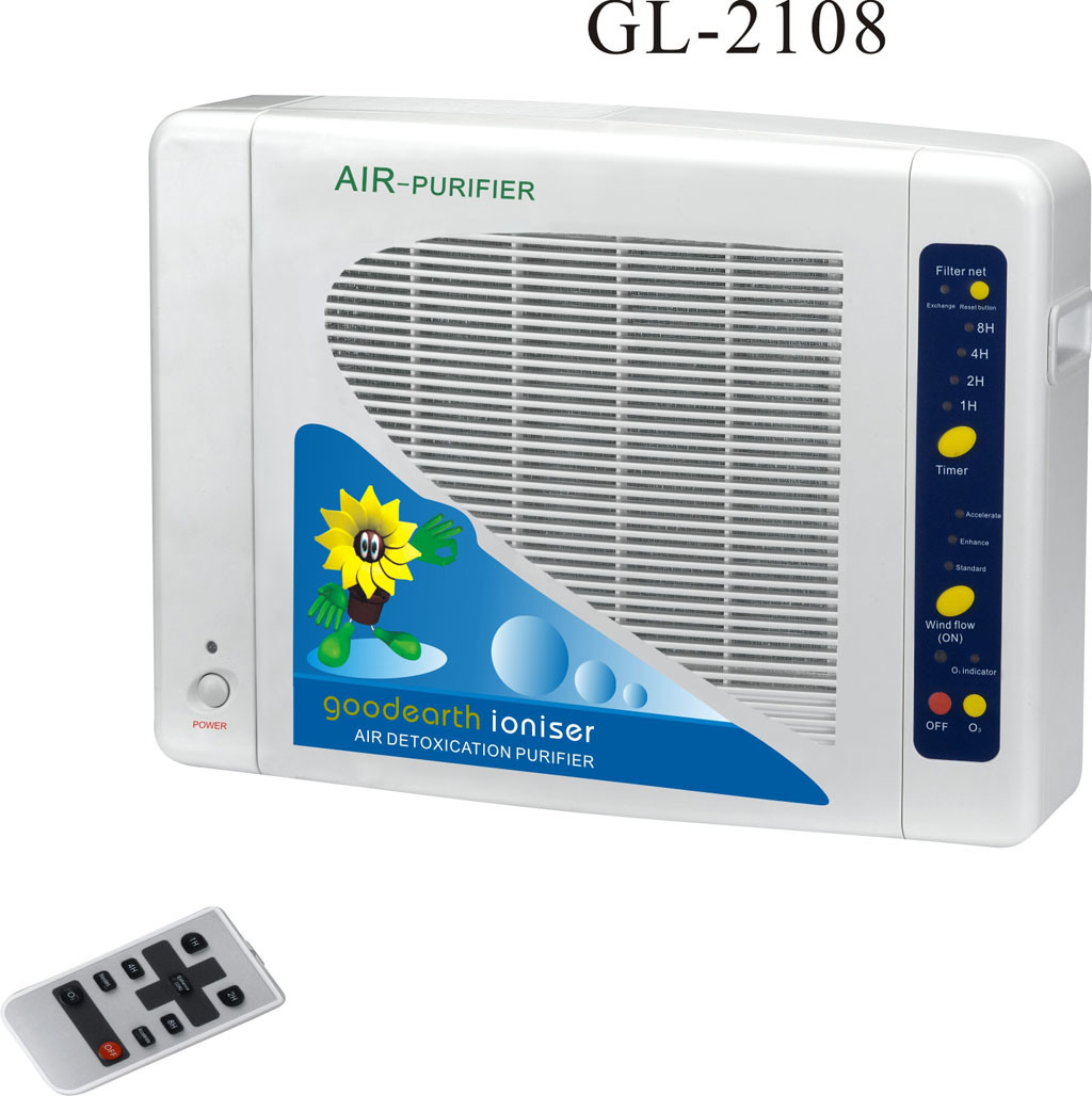 Air Purifier with HEPA and Ozone (2108)