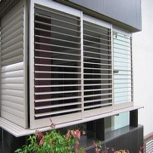 Aluminium Profile Louver for Commercial Building