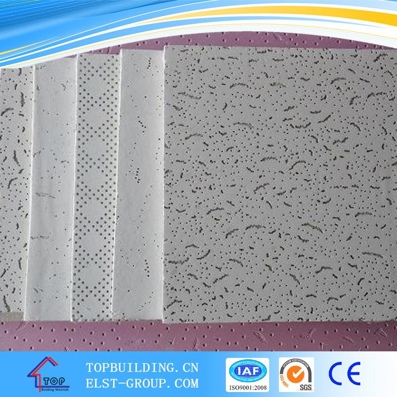 Tegular Edge Acoustic Mineral Fiber Ceiling Board 12mm/15mm