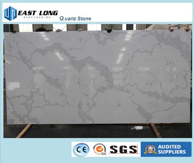 Artificial Quartz Stone Slab for Building Material