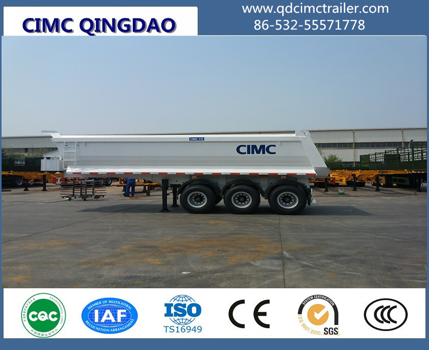 2/3 Axle Dump Semi Trailer/Tipper Semi Trailer