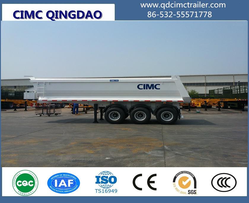 Cimc 2/3 Axle Dump Semi Trailer/Tipper Semi Trailer