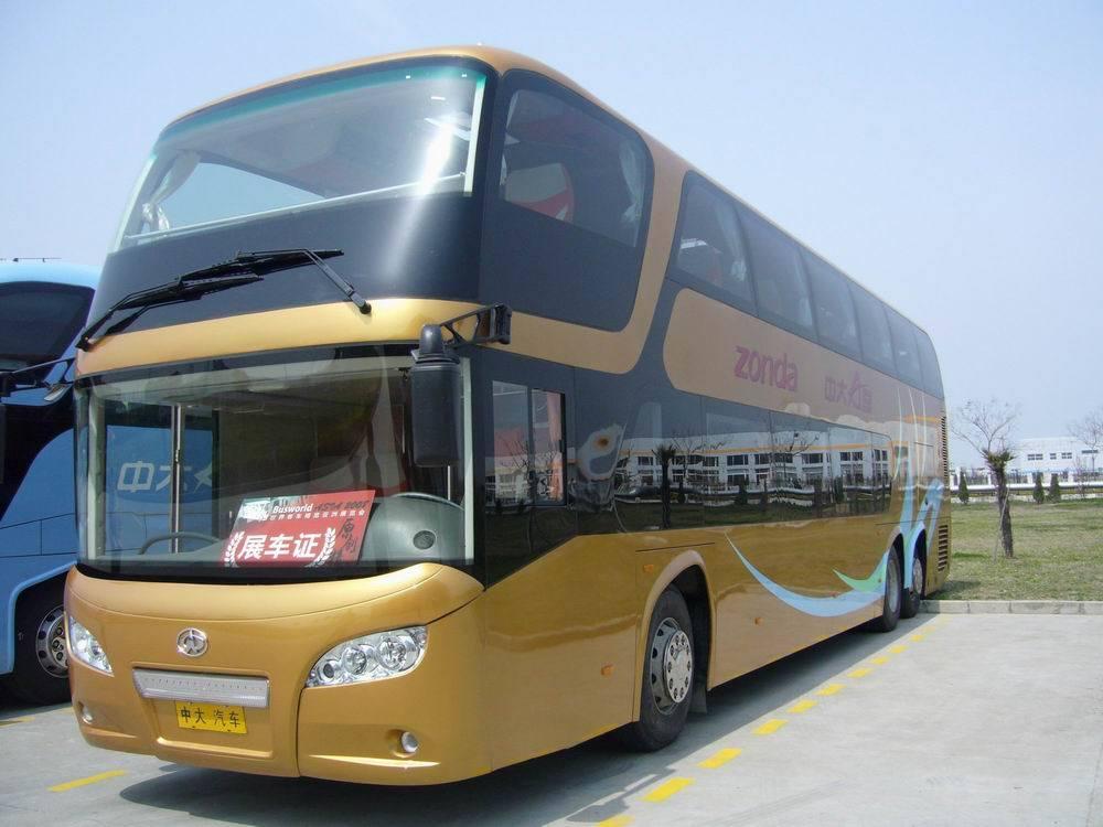 China 2009 new double decker bus china bus coach
