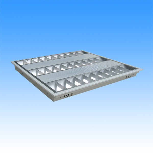China Fluorescent Bracket With Cover Grille Lamp (T5