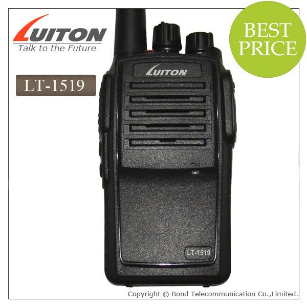 IP67 Waterproof Wireless Intercom UHF VHF Lt-1519 Ctcss Setting