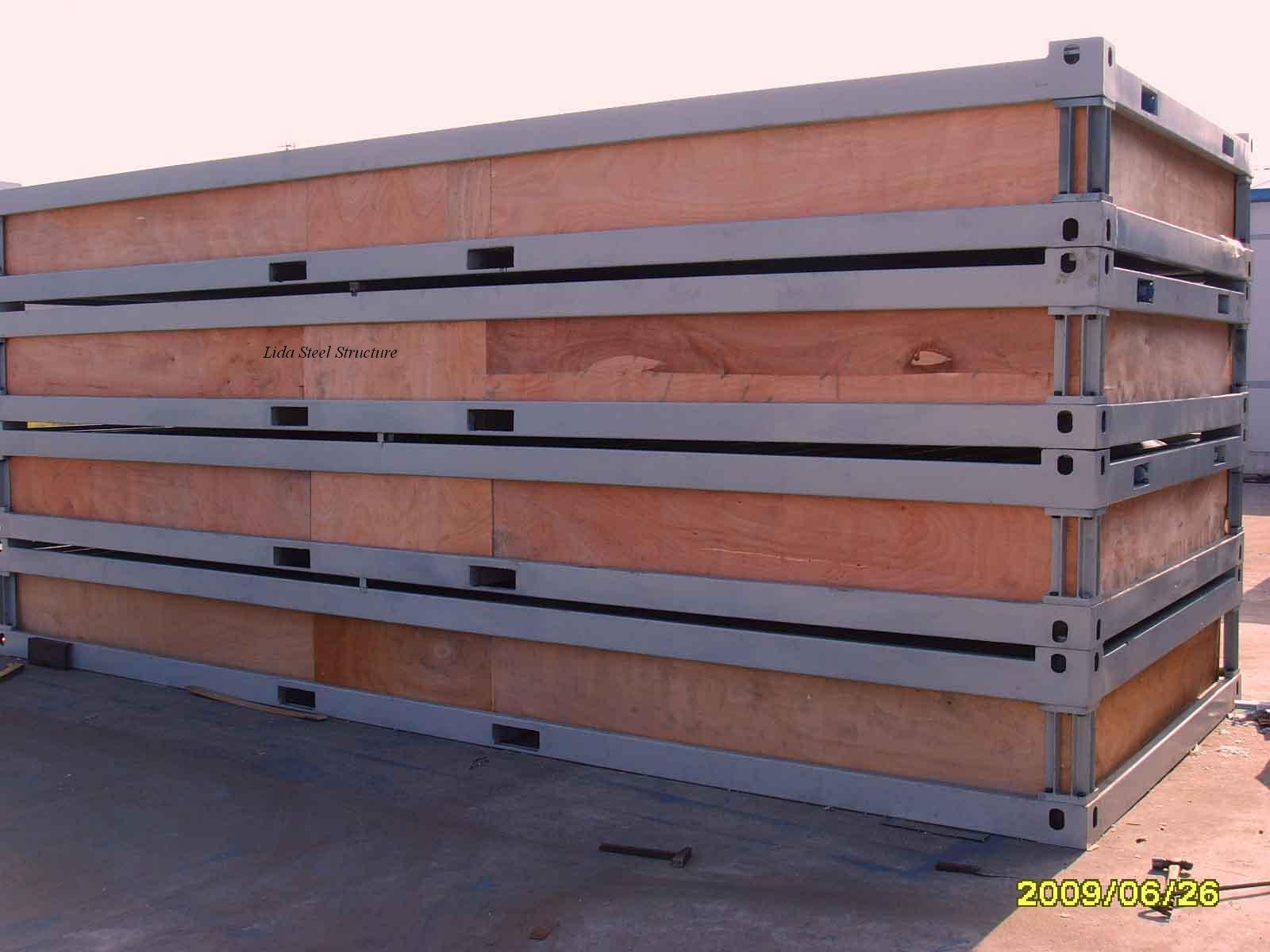 Labor Accommodation Container Portacabin Portable House in Qatar (LD002)