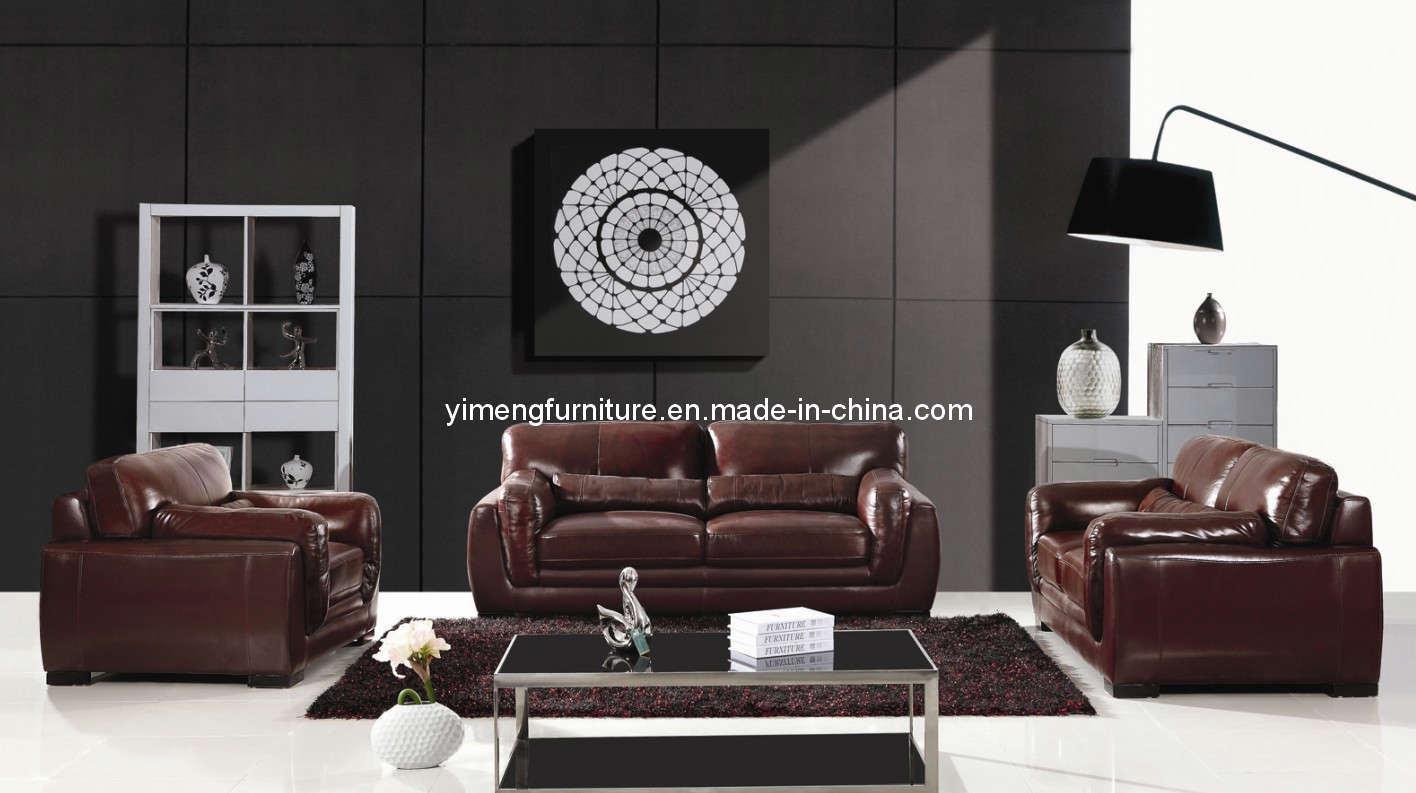 Living room furniture leather sofa 9803