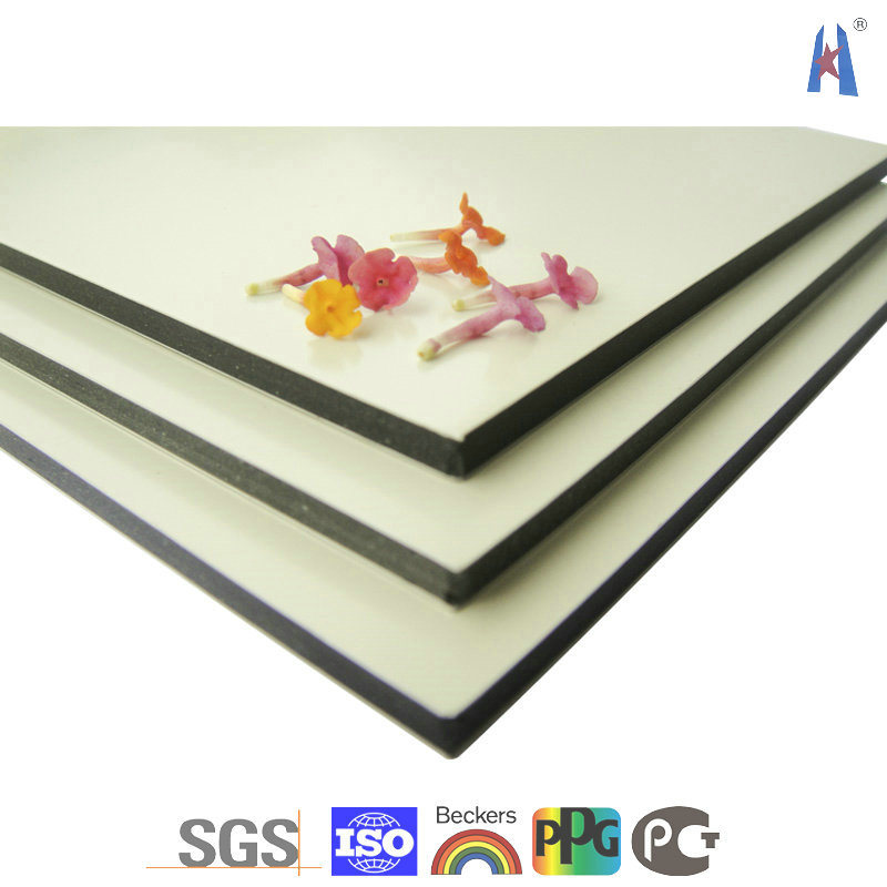 Translucent acrylic panel with natural tiger thatch for Aluminium decoration