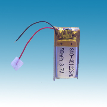 3.7V/90mAh Polymer Battery Pack
