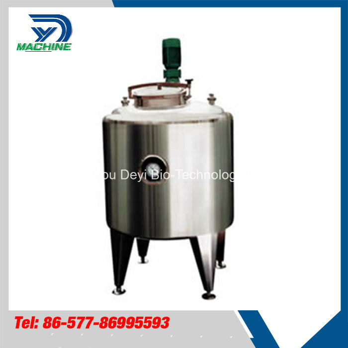 Food Grade Stainless Steel Milk Storage Tank