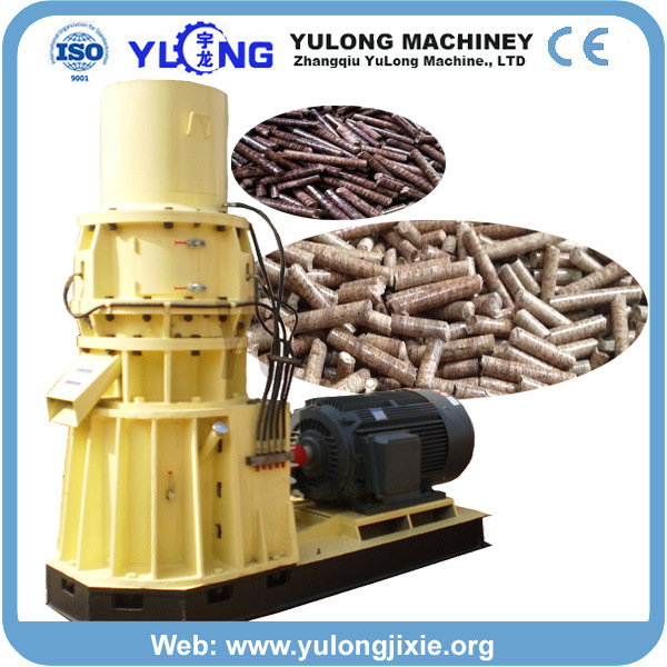 High Capacity Machine for Wood Pellets