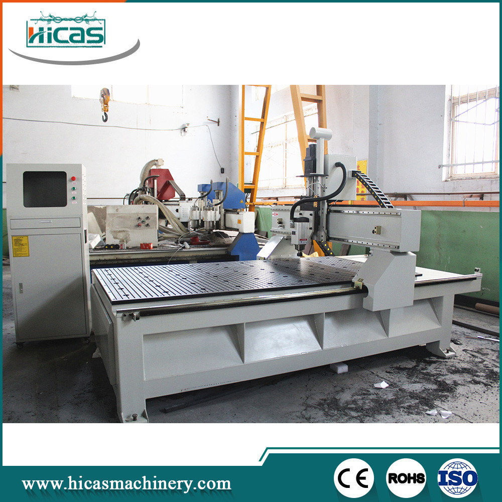 Special Designs OEM CNC Router 4 Axis for Cabinets
