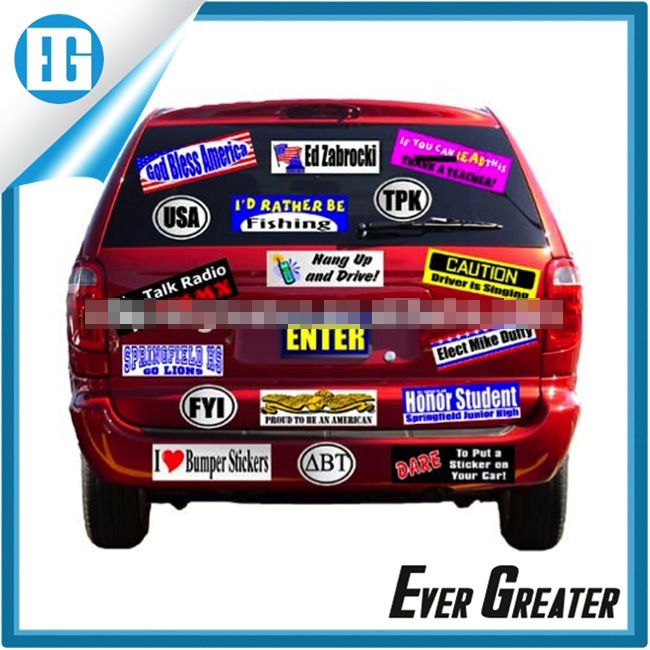 Car Sticker with Your Own Design