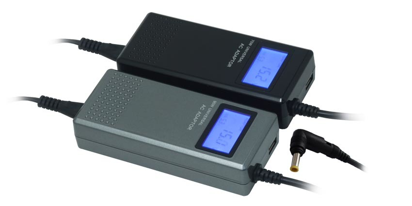 China 90w Universal Notebook Ac Adapter Lcd Display