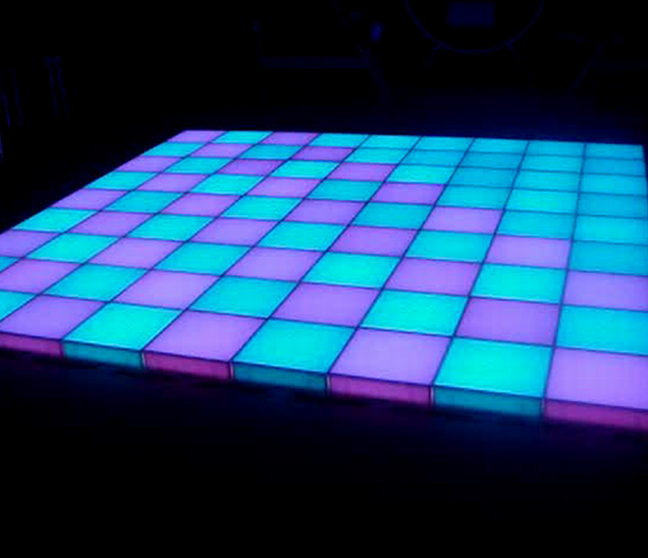 china super thin senstive led dance floor led disco light