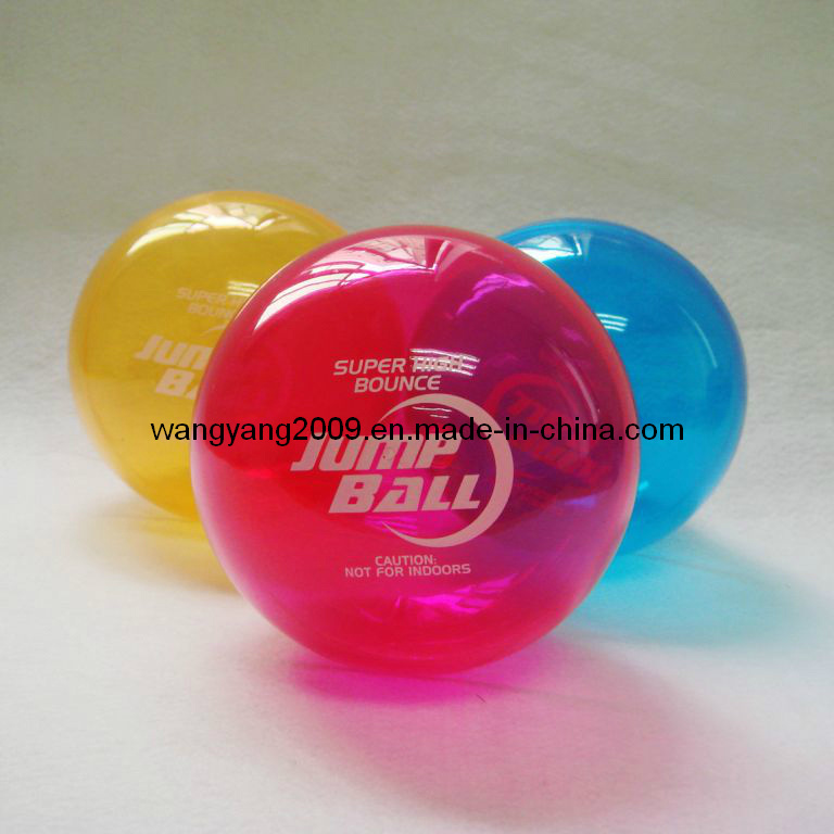 LED Flashing Buncing Ball (WY-HBB41)
