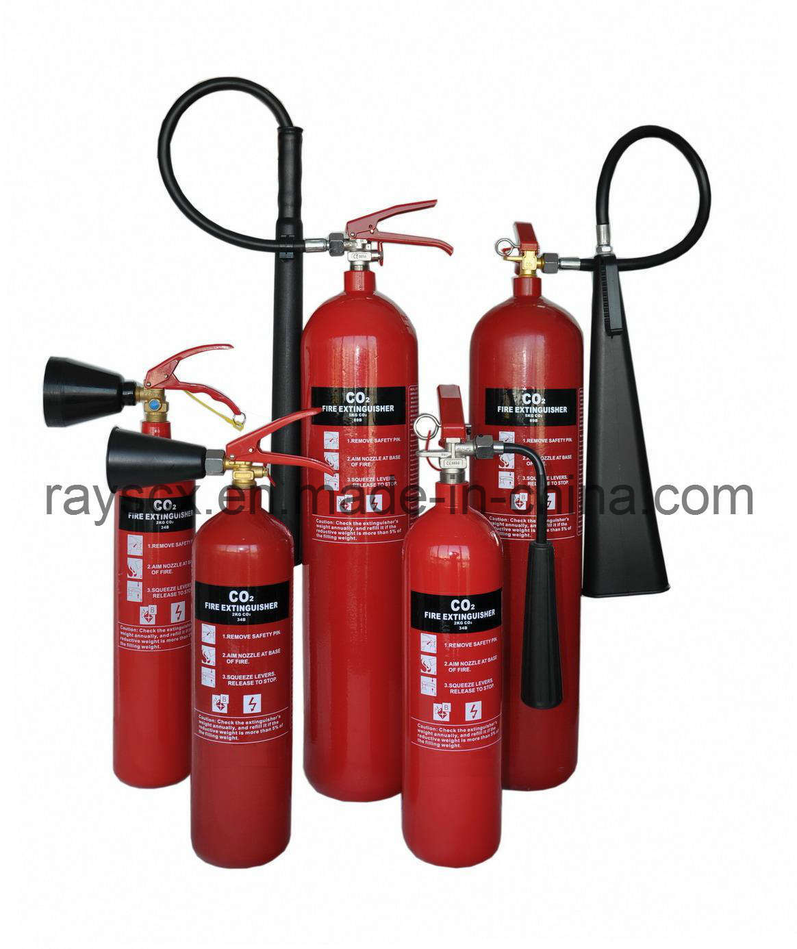 CO2 Fire Extinguisher From Synergy Industry