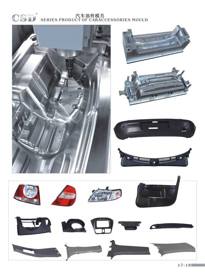 Car Accessories Mould / Auto Moulds
