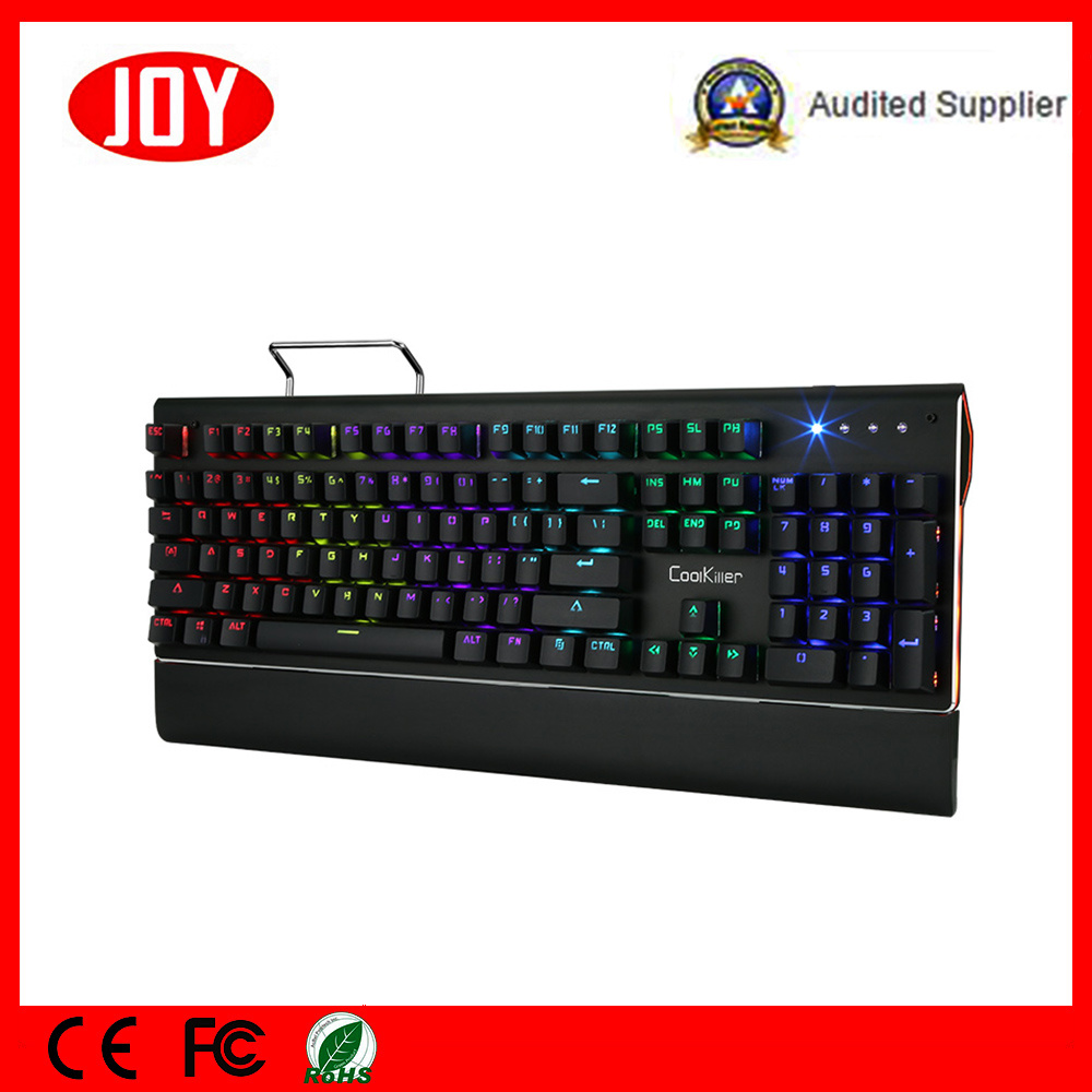 Mechanical Keyboard Backlit with Blue Switch Gaming Keyboard