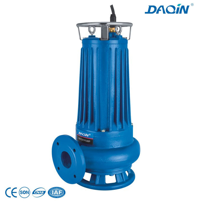Wqas Submersible Water Pumps with Cutting Impeller