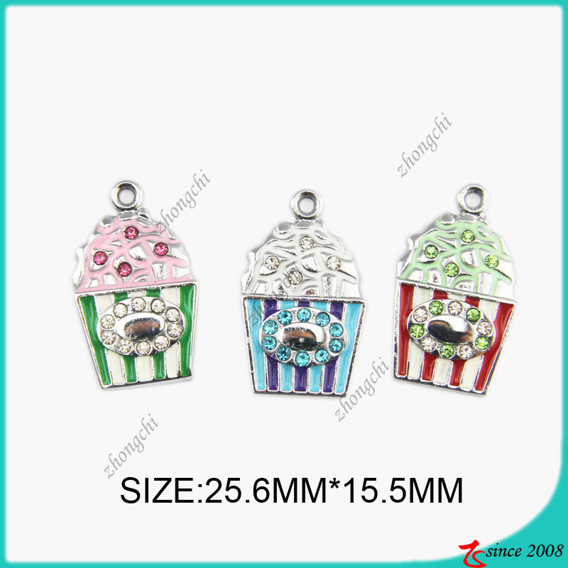 Fashion Metal Icecream Charm for Jewelry Making (SPE)