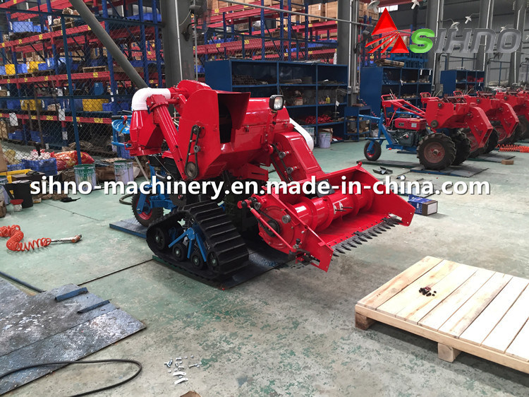 4lz-0.7 Mini Combine Harvester for Rice/Wheat