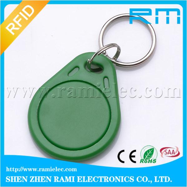 125kHz Em4102 Smart RFID Key Fob Door Identification Key Fob