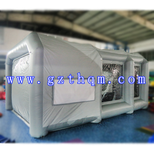 PVC Inflatable Spray Paint Tent/Inflatable Cube Tent/Inflatable Dome Tent