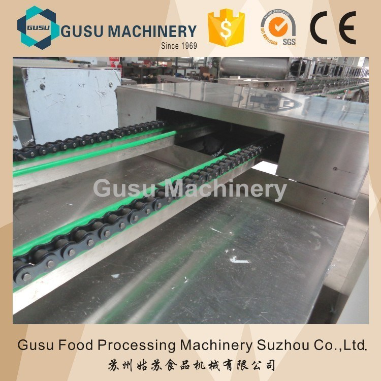 SGS Big Capacity Center Filling Snack Food Chocolate Moulding Depositor