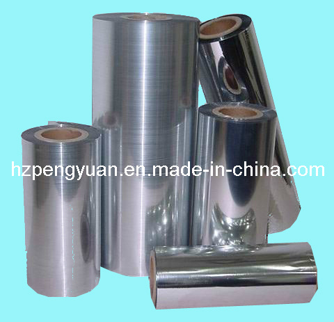 Metalized Pet Thermal Lamination Film for Packing